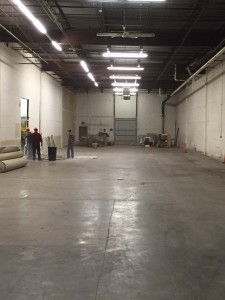 New warehouse space